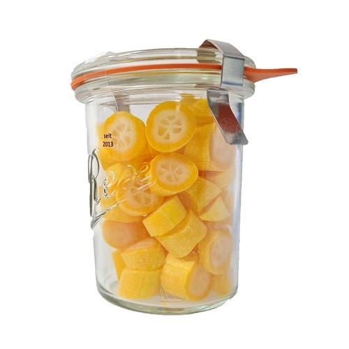 fruchtbombe Oangen Zuckerl im Glas Bonbon von Nobnob 90g