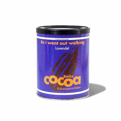 Lavendel Trinkschokolade - As I went out walking