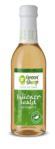 Wienerwald Sirup Verdünnsaft 250 ml Glasflasche natürliches Erfrischungsgetränk zum Mischen Green Sheep
