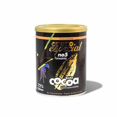 Especial No. 5 Tansania Bio 72% Zartbitterkakao
