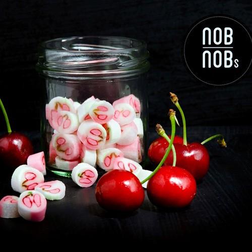 Kirsch - Cherry- Hartbonbons Zuckerl aus Zuckerl Hersteller NobNob´s in Wien