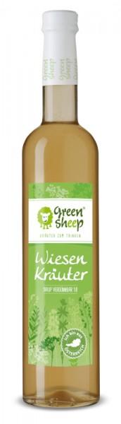 Bio Wiener Wald Kräuter Sirup vom Hersteller Green Sheep Blüten zum trinken 500 ml Verdünnsaft