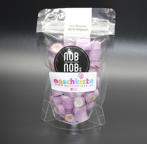 Sisi Veilchen Bonbons Zuckerl aus Zuckerlmanufaktur NobNob´s in Wien