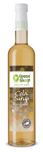 Cola Kräuter Sirup von der Eberraute von Green Sheep Erfrischungsgetränk zum Mischen Kindergetränk