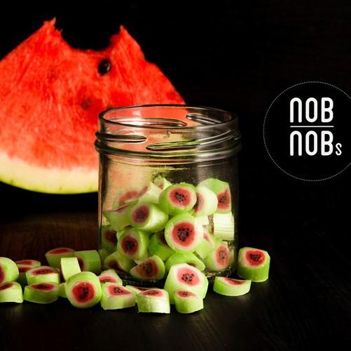 Wassermelone Bonbons Zuckerl aus Zuckerlmanufaktur NobNob´s in Wien